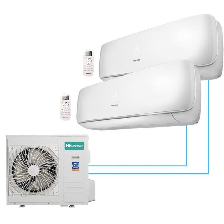 Hisense AMS-09UR4SVETG67*2/AMW2-14U4SRE-conditioner